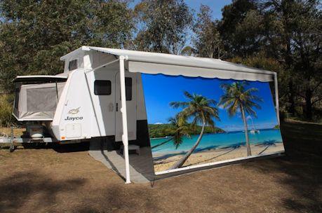 Caravan Shade Walls