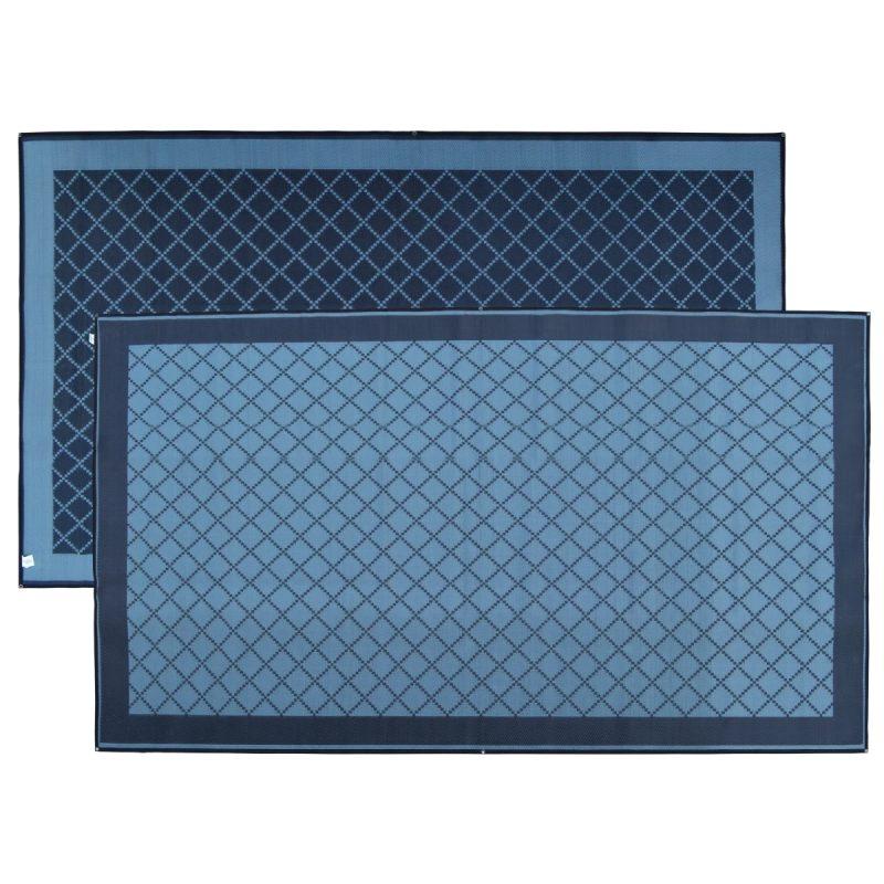 Annex Plus Mat - Grey/Black Full Crisscross