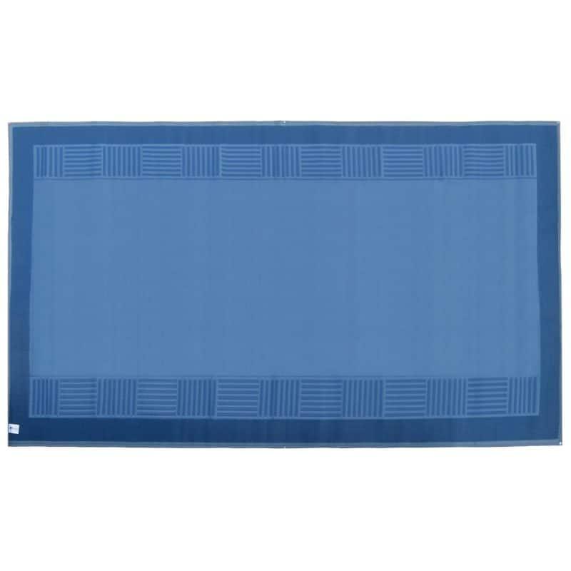 Navy Blue Awning Mat - Navy Blue/Grey